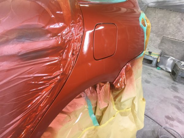 H27 カロ-ラCROSSフィルダーTRD 板金塗装